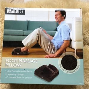 Home disc massage foot pillow Nwt